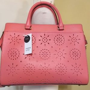 Crown & Ivy Ava purse bag NWT sorbet FINAL PRICE